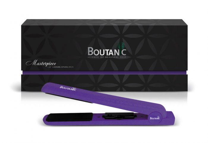 マスターピース  紫色 1.25インチ(3.2cm) セラミックスタイルアイロン